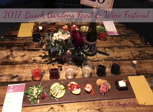 Busch gardens food and wine festival 2017 for Busch gardens food and wine 2017