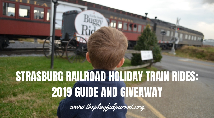 Strasburg Railroad Holiday Train Rides 2019 Guide And Giveaway